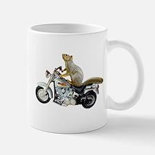 Motorcycle Squirrel Mug