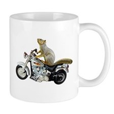Motorcycle Squirrel Small Mug
