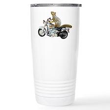 Motorcycle Squirrel Travel Mug