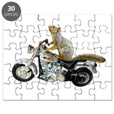 Motorcycle Squirrel Puzzle