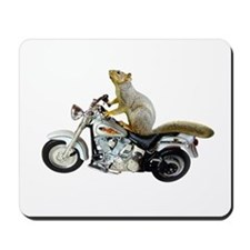 Motorcycle Squirrel Mousepad