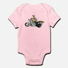 Motorcycle Squirrel Infant Bodysuit
