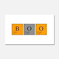 Periodic Boo Car Magnet 20 x 12