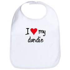 I LOVE MY Dandie Bib