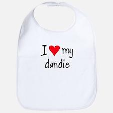 I LOVE MY Dandie Bib