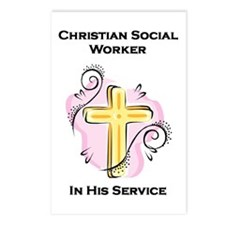 Christian Social Worker Postcards (Package of 8)