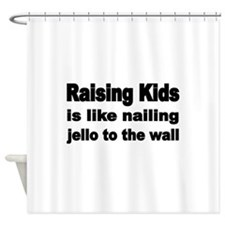 Raising Kids is like nailing jello to the wall Sho