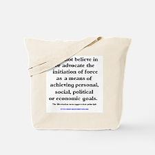The Non-aggression Tote Bag