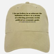 The Non-aggression Baseball Baseball Cap