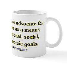 The Non-aggression Mug