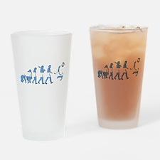 Argentinia Soccer Evolution Drinking Glass
