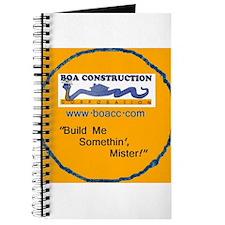 BOA original logo/gold Journal