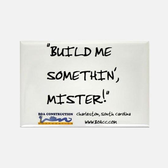 "BOA ""Build Me . . ."" Rectangle Magnet (10 pack)"