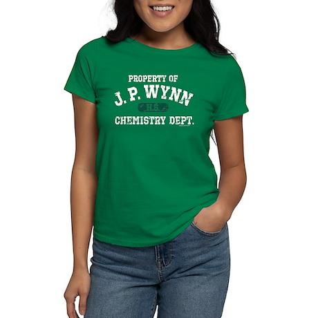 JP Wynn Chemistry Dept Women's Dark T-Shirt