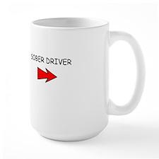 SOBER DRIVER LARGE BEER MUG
