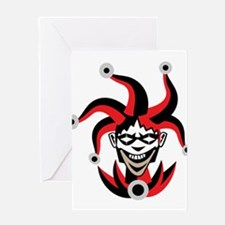 Jester - Costume Greeting Cards
