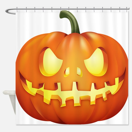 Halloween - Jackolantern Shower Curtain