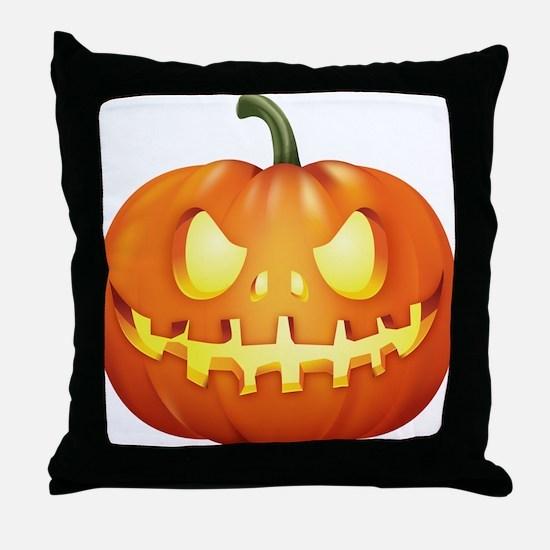 Halloween - Jackolantern Throw Pillow