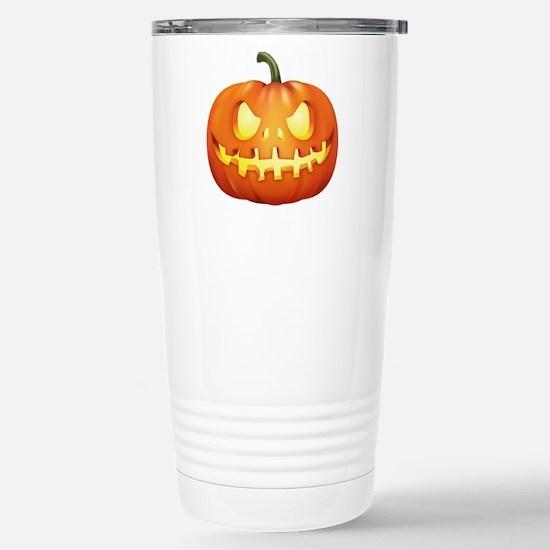 Halloween - Jackolantern Travel Mug