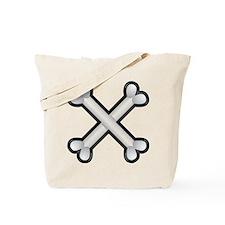 Halloween - Crossed Bones Tote Bag