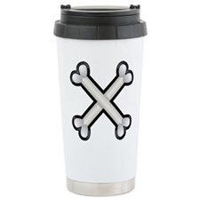 Halloween - Crossed Bones Travel Mug