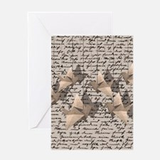 Cool Origami crane Greeting Card