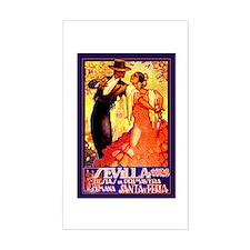 SEVILLA 1928 * Fiestas de Primavera * Decal