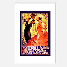 SEVILLA 1928 * Fiestas de Primavera * Postcards (P