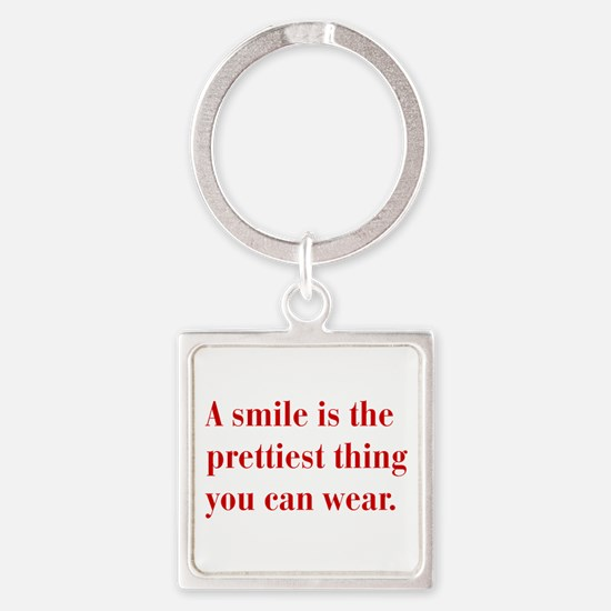 smile-bod-red Keychains