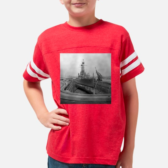 Brooklyn Navy Yard Dry Dock Youth Football Shirt