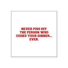 NEVER-PISS-OFF-FRESH-RED Sticker