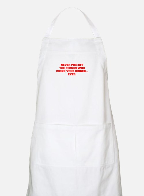 NEVER-PISS-OFF-FRESH-RED Apron