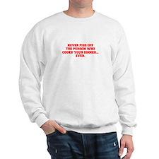 NEVER-PISS-OFF-FRESH-RED Sweatshirt