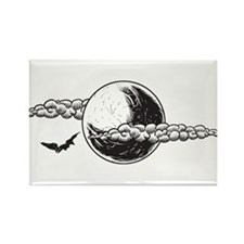 Halloween - Night - Bats Magnets