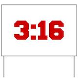 John 316 Yard Signs
