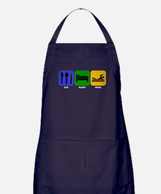 Eat Sleep Swim Apron (dark)