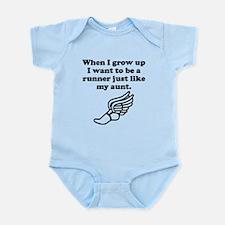 Runner Like My Aunt Body Suit