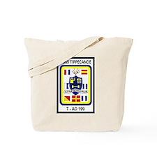 T AO 199 USNS Tippecanoe Tote Bag