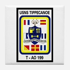 T AO 199 USNS Tippecanoe Tile Coaster