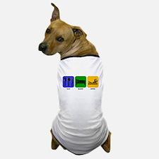 Eat Sleep Swim Dog T-Shirt