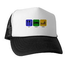 Eat Sleep Swim Hat