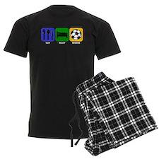 Eat Sleep Soccer pajamas