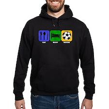 Eat Sleep Soccer Hoody