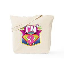 Super Hero 3rd Birthday Tote Bag