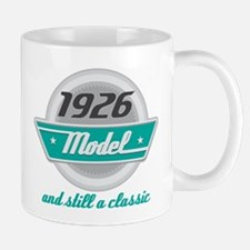 1926 Birthday Vintage Chrome Mug