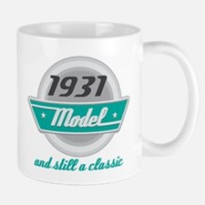 1931 Birthday Vintage Chrome Mug