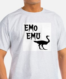 Emo Emu Ash Grey T-Shirt