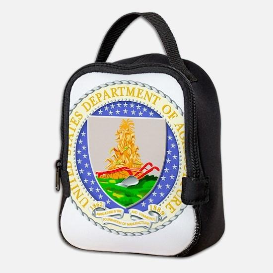 USDA Seal Neoprene Lunch Bag