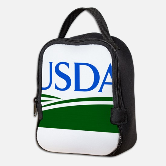 USDA logo Neoprene Lunch Bag