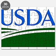 USDA logo Puzzle